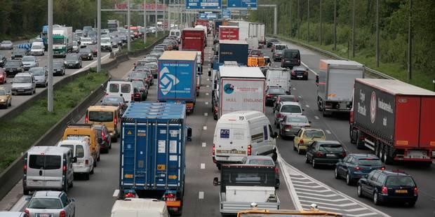 Embarras de circulation sur le ring extérieur de Bruxelles à hauteur de Strombeek-Bever - La Libre