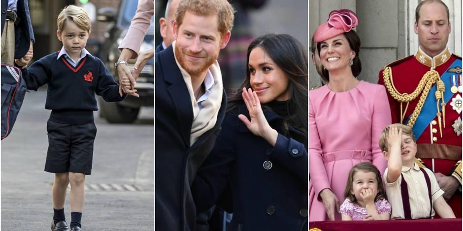 La famille royale britannique partage sa rétro 2017