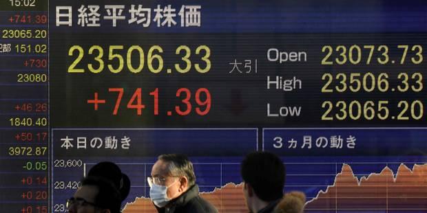 A Wall Street, Dow Jones, Nasdaq et S&P 500 terminent à des records - La Libre