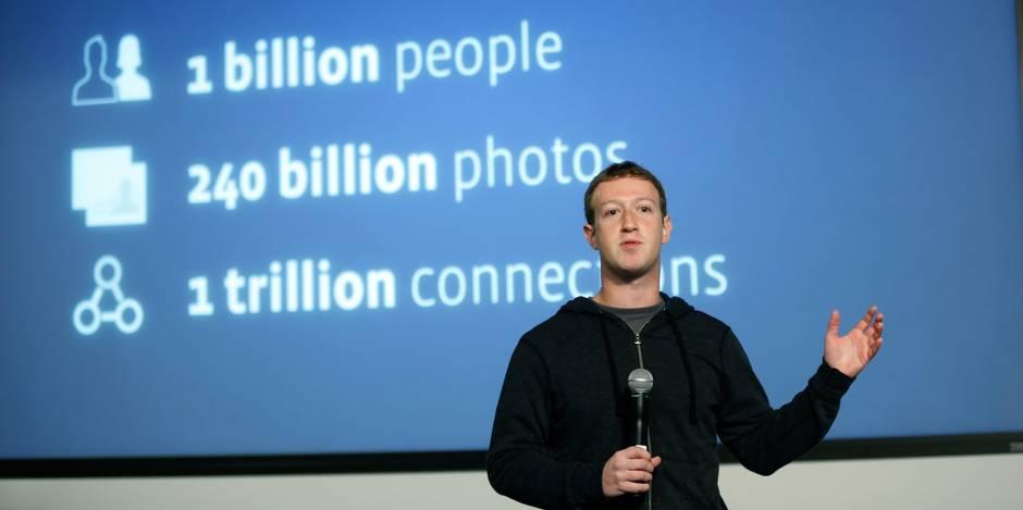 Edito: Facebook doit assumer la responsabilité des contenus diffusés - La Libre