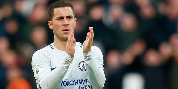 Les beaux cadeaux d'anniversaire de Chelsea et de Lille à Eden Hazard (VIDEO) - La Libre