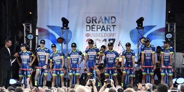 Tour de France 2018: l'équipe Wanty-Groupe Gobert invitée par les organisateurs - La Libre