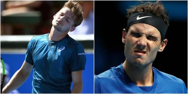 Exhibition de Kooyong: Goffin perd son premier match en 2018, Nadal battu par Gasquet - La Libre