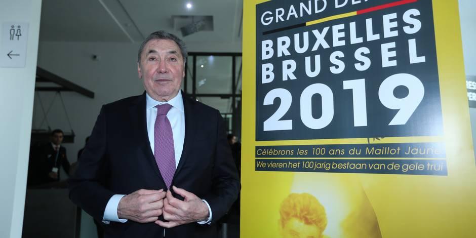 Merci Eddy Merckx pour ce que vous avez fait et faites encore pour la Belgique
