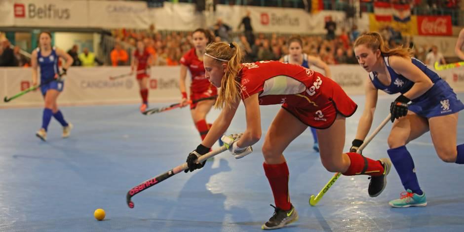 Euro Indoor Dames : Ecosse – Belgique 0-5