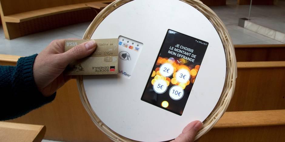 Paris: les paroissiens pourront donner leurs offrances avec leur carte bancaire