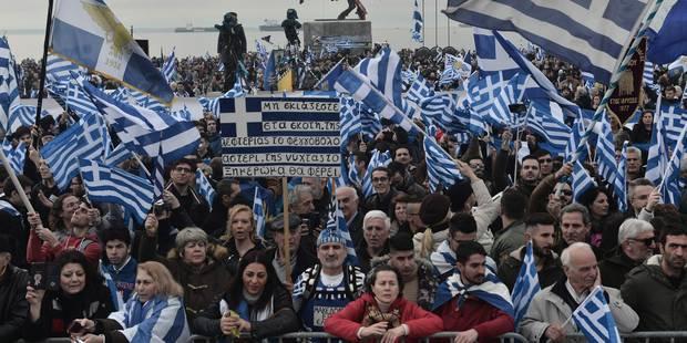 Plus de 90.000 personnes en Grèce contre un compromis sur le nom de la Macédoine - La Libre
