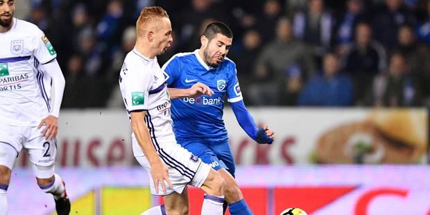 """Anderlecht s'impose à Genk 0-1 au terme d'une belle prestation, """"On n'a jamais su faire le break et tuer le suspense"""" te..."""