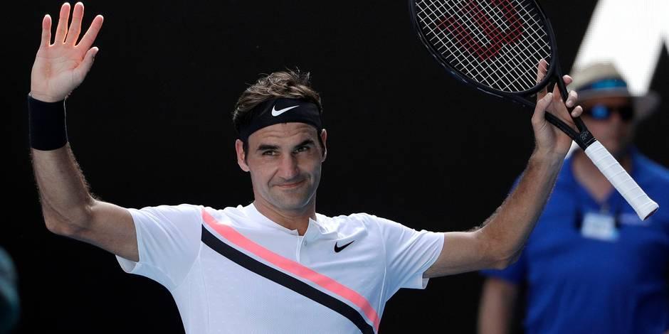 """Federer retrouve Berdych en Australie: """"Je dois m'inspirer de l'an dernier"""""""