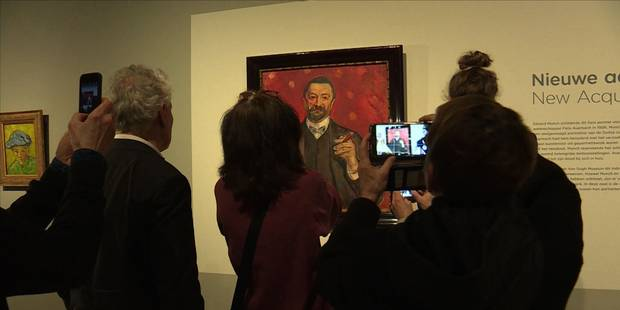 Une oeuvre rare de Munch dévoilée au musée Van Gogh - La Libre