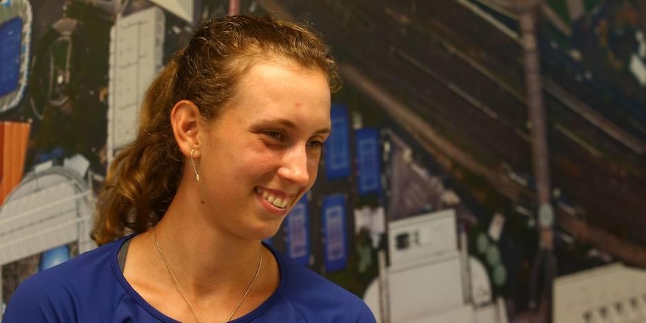 """Open d'Australie: selon sa mère, Elise Mertens peut être très fière d'elle, """"la fatigue l'a rattrapée"""""""