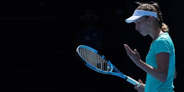 """Elise Mertens, battue en 1/2 finale à Melbourne: """"Je veux aller plus haut que le Top 20"""" - La Libre"""