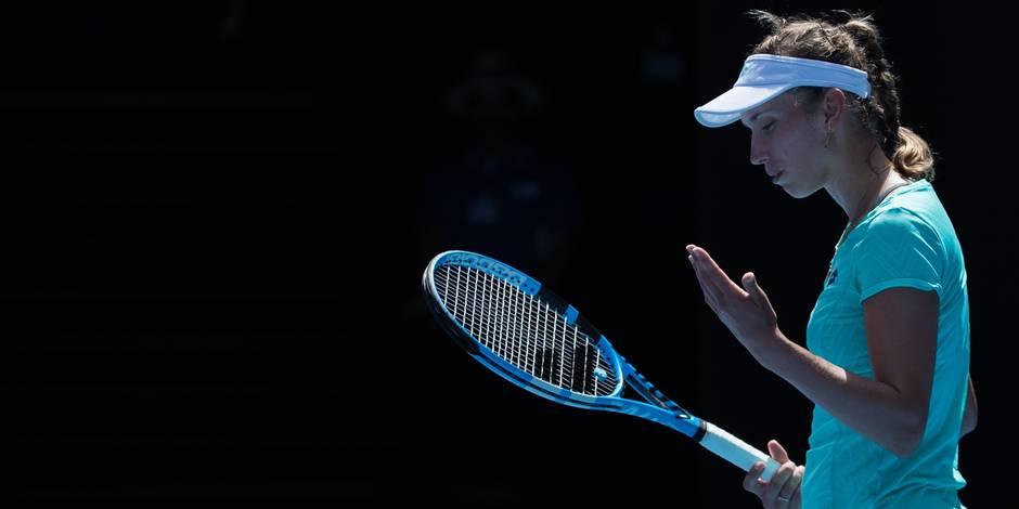 """Elise Mertens, battue en 1/2 finale à Melbourne: """"Je veux aller plus haut que le Top 20"""""""