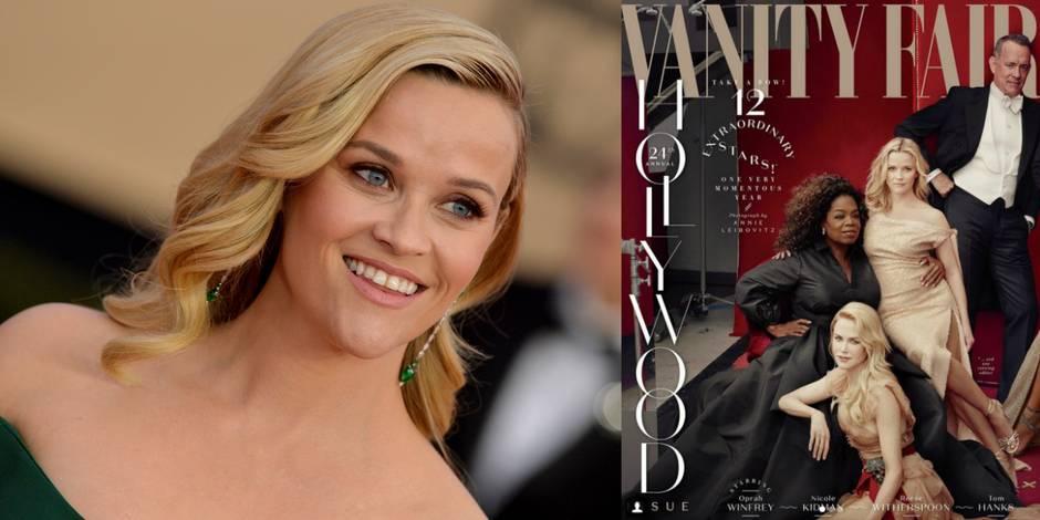 Photoshop vient de ridiculiser Vanity Fair et sa cover pleine de star dont Reese Witherspoon avec 3 jambes