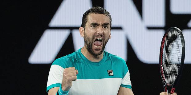 """Open d'Australie: Cilic : """"Je peux jouer ainsi toute la saison"""" - La Libre"""
