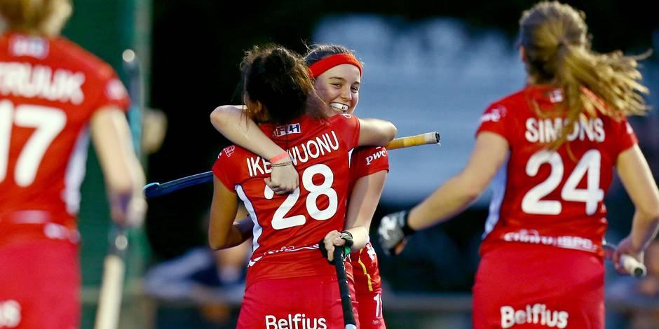 Red Panthers: La Belgique partage 3-3 dans son 2e amical contre l'Argentine
