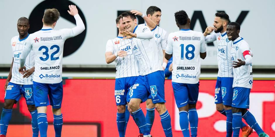 La Gantoise-FC Bruges 2-0: Kalu double la marque pour les Buffalos (DIRECT)