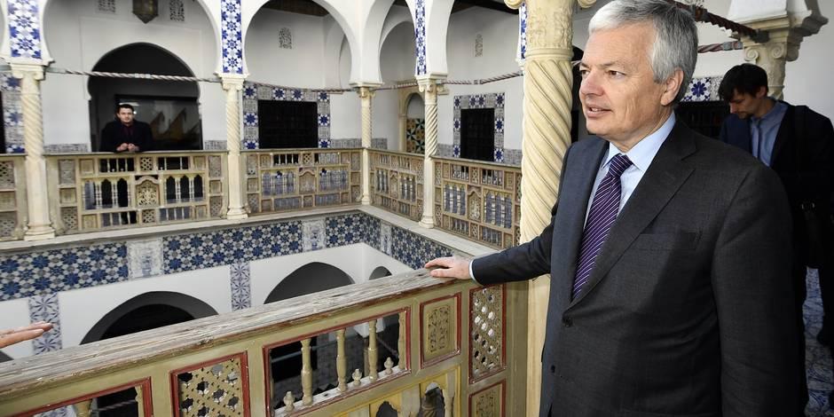 M. Ouyahia reçoit le ministre belge des Affaires étrangères
