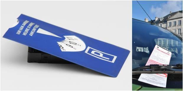 Attention aux amendes si votre disque de stationnement est périmé - La Libre