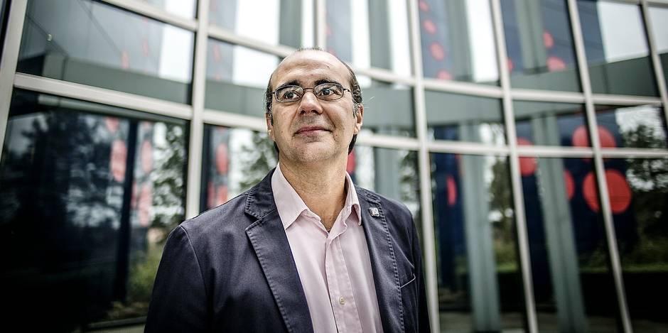 ZAVENTEM AIRPORT PORTRAIT BERNARD GUSTIN CEO BRUSSELS AIRLINES