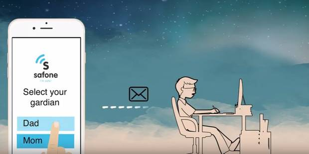 Cette application belge permet de rassurer les parents - La Libre