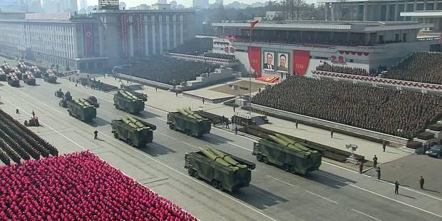La Corée du nord exhibe ses missiles intercontinentaux à la veille des JO - La Libre