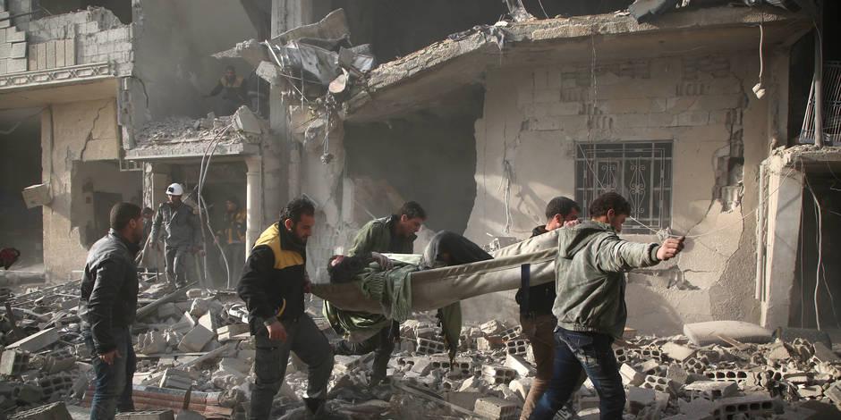 """Un cessez-le-feu humanitaire en Syrie """"n'est pas réaliste"""" pour la Russie"""