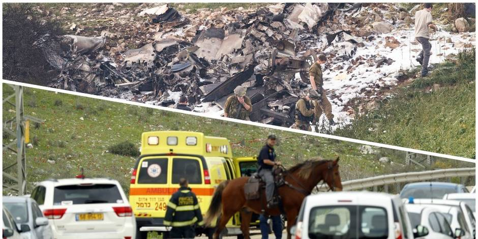 Crash d'un F16 israélien et d'un hélicoptère turc après des raids en Syrie: Deux militaires turcs tués (Notre résumé)