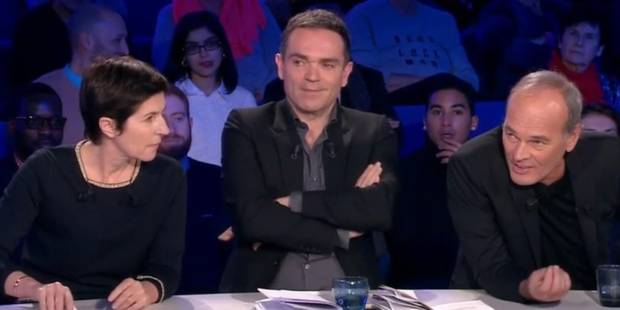"""""""Moi, folle et méchante"""": Dans ONPC, un clash coupé au montage entre Angot et Laurent Baffie - La Libre"""