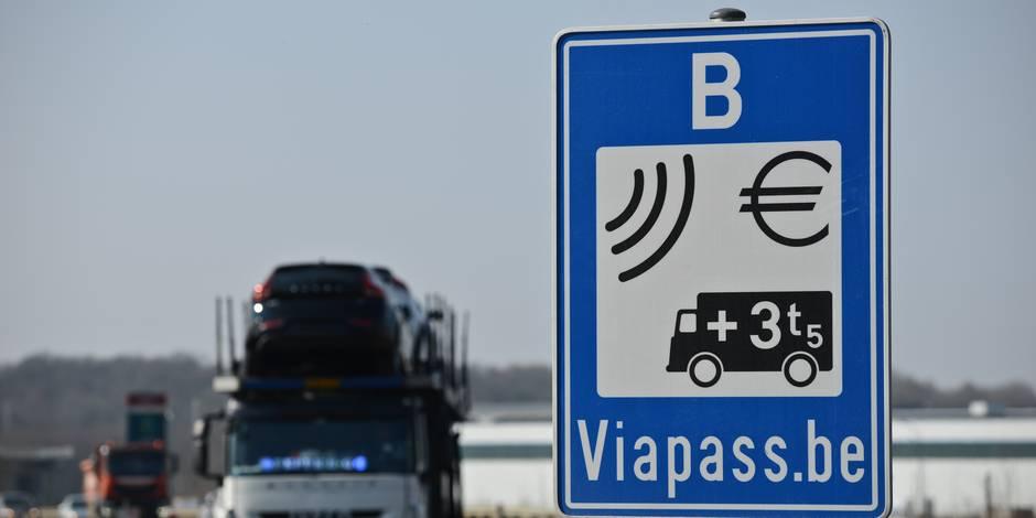 Viapass kilomètre taxe camion international TIR transporteur poids lourds route autoroute chargement chauffeur routier