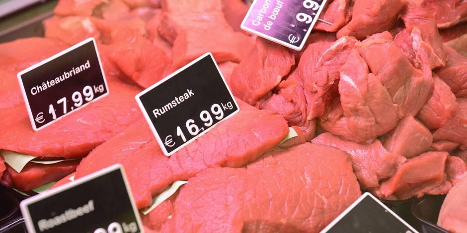 Près de la moitié des Belges consomme moins de viande