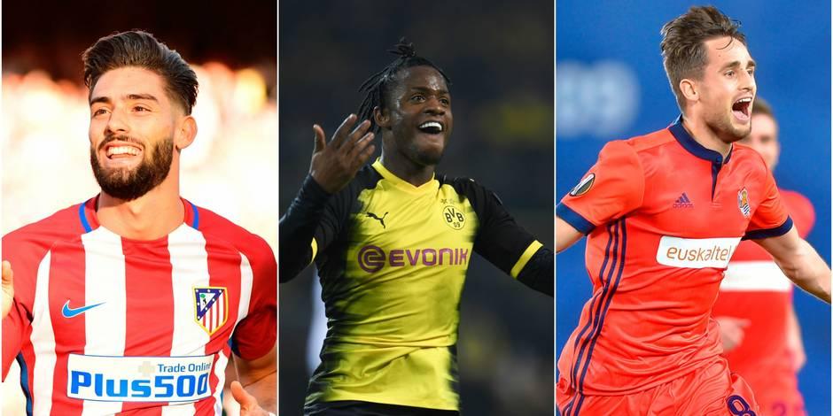 Europa League: Carrasco à l'assist, Batshuayi double buteur avec Dortmund, Januzaj inscrit un joli but sur coup-franc. Les Diables sont en forme! (VIDEOS)