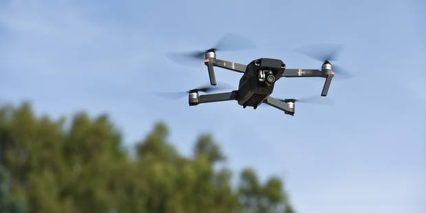 Province de Liège: des cimetières cartographiés par drones - La Libre