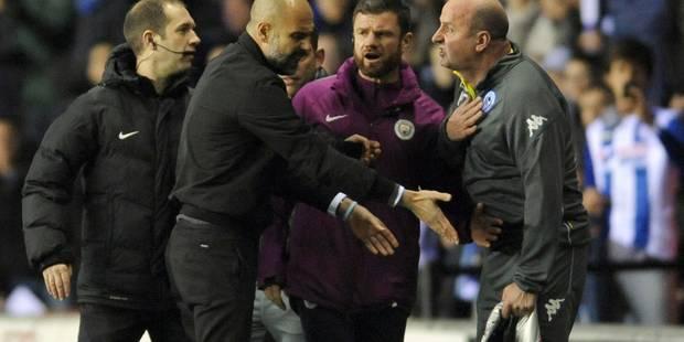 City émiminé par un club de D3 en FA Cup: Ça a chauffé en fin de match! (VIDEOS) - La Libre
