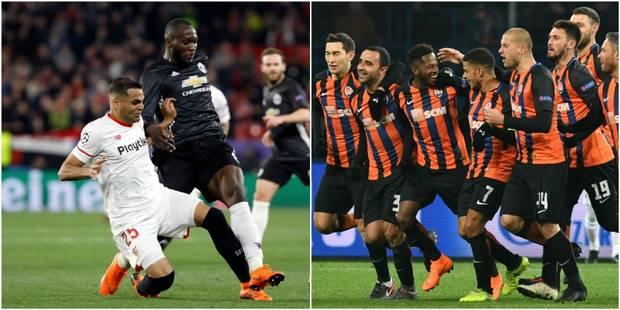 C1: Manchester United et Séville se quittent dos à dos (0-0), le Shakhtar fait tomber la Roma (2-1) - La Libre