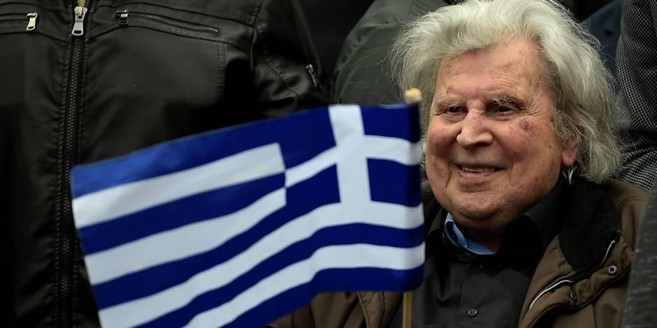 L'artiste Mikis Theodorakis est devenu une figure vantée par l'extrême-droite