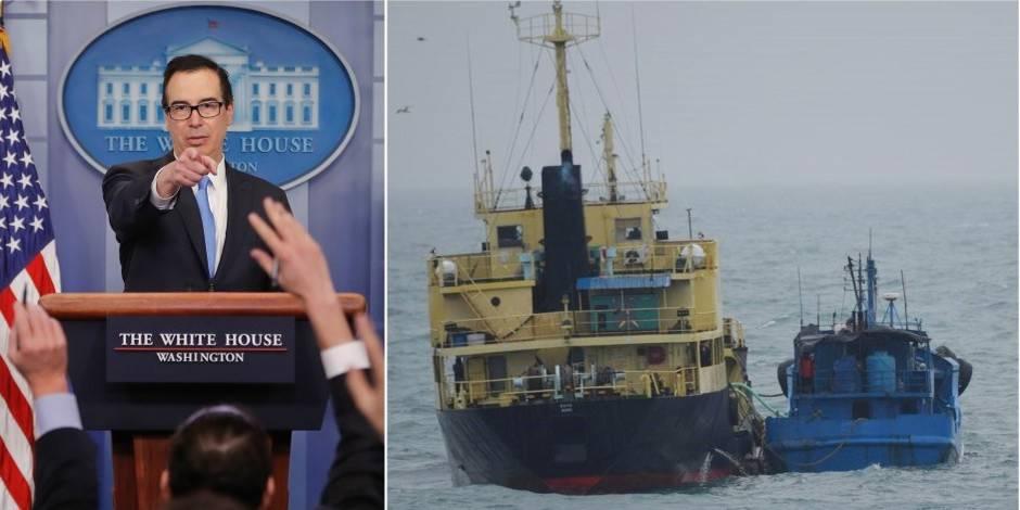 """Trump annonce les sanctions """"les plus lourdes"""" jamais imposées à la Corée du Nord"""