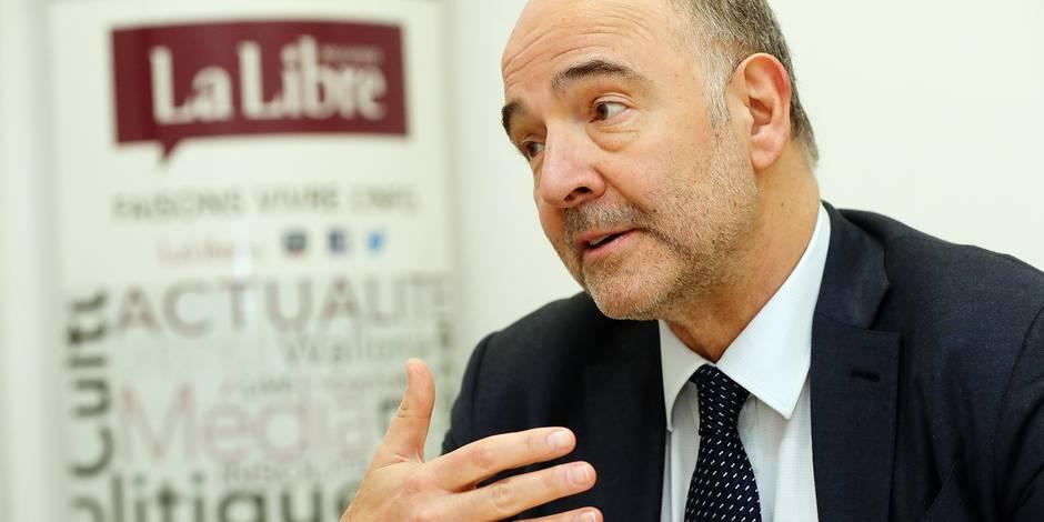 """Pierre Moscovici: """"Je ne suis pas obsédé par 2019, mais je n'exclus rien"""""""