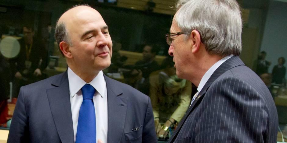 """Moscovici: """"Juncker est comme Sysiphe : difficile à rendre heureux. Mais il tient son rang et son rôle"""""""