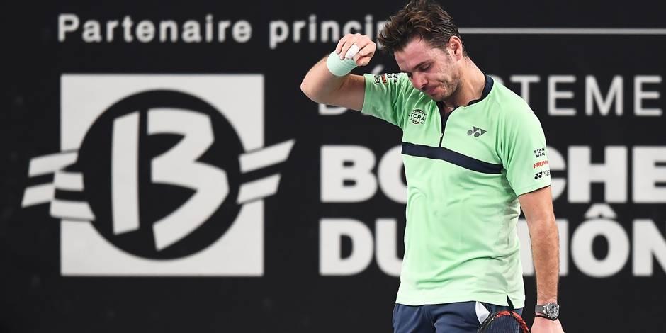 Le geste très classe de Stan Wawrinka après son abandon au tournoi de Marseille