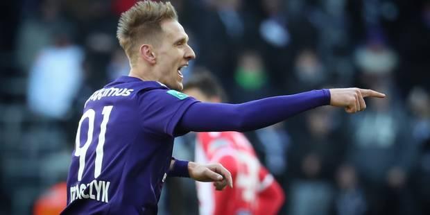 Anderlecht, pour la première de Coucke, a joué à se faire peur contre Mouscron (5-3) - La Libre