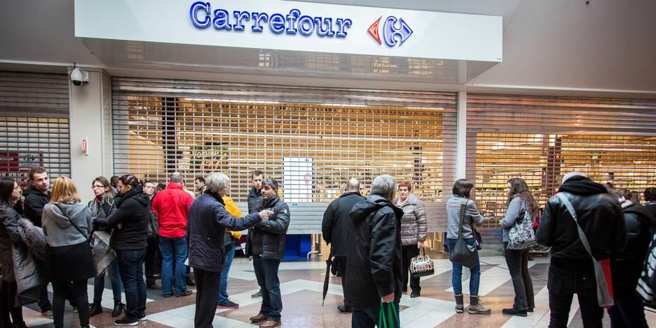 """Carrefour: les discussions entre la direction et les syndicats sont """"anarchiques"""" - La Libre"""