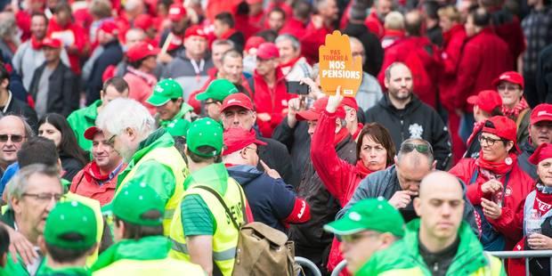 Pensions : Les syndicats intentent un recours contre les mesures du gouvernement liées aux assimilations - La Libre