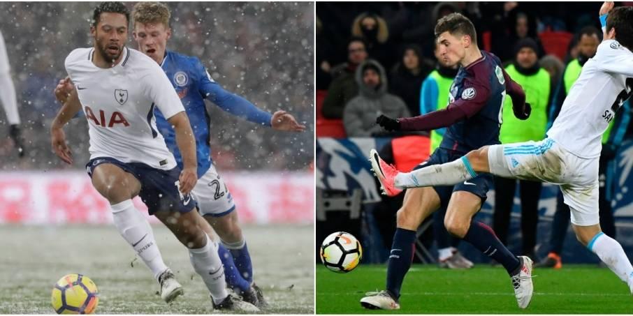 Belges à l'étranger: Dembele et Tottenham filent en quarts de FA Cup, Meunier et le PSG corrigent Marseille en Coupe de France