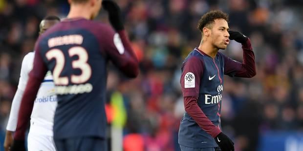 Après Neymar, le PSG pourrait être privé d'un deuxième joueur - La Libre