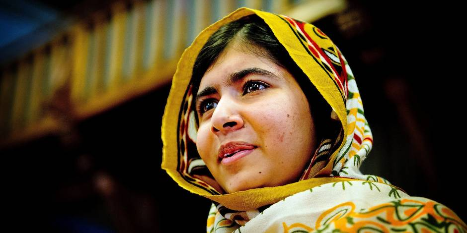 (130907) -- THE HAGUE, Sept. 7, 2013 () -- Malala Yousafzai, a 16-year-old Pakistani girl, speaks after winning this year's International Children's Peace Prize, in The Hague, the Netherlands, on Sept. 6, 2013. Malala, who survived a Taliban attack, won this year's International Children's Peace Prize, KidsRights announced during the prize-awarding ceremony in The Hague on Friday. (/Robin Utrecht) Reporters / Photoshot