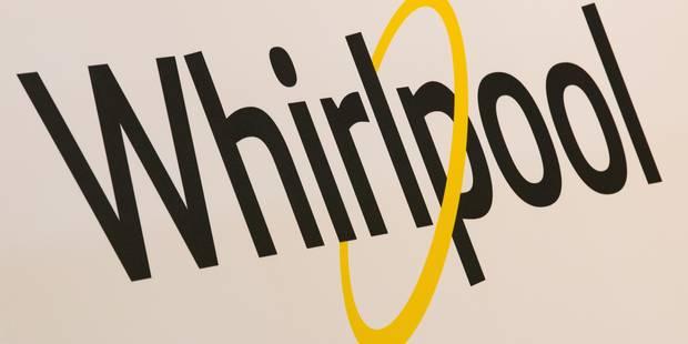 Whirlpool gèle pendant un an la suppression des 500 emplois prévue - La Libre