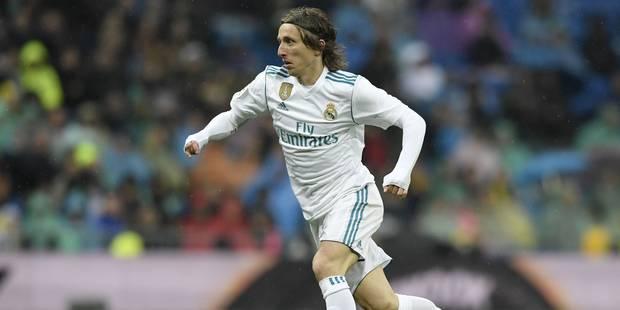 Real Madrid: Modric inculpé de faux témoignage en Croatie - La Libre