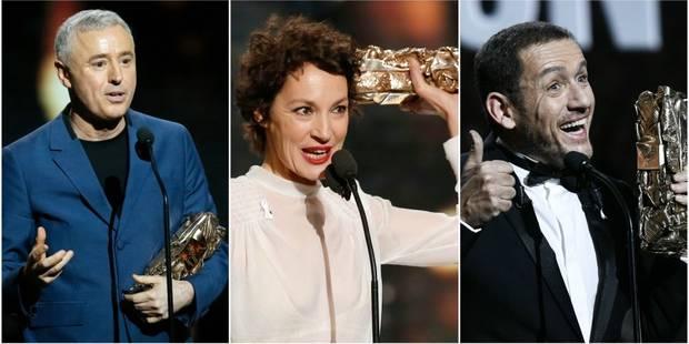"""Sacré meilleur film, """"120 battements par minute"""" séduit lors de la cérémonie des César - La Libre"""