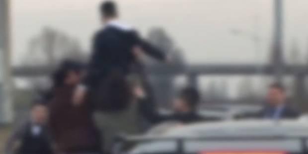 Manoeuvres dangereuses, véhicules à l'arrêt: Un cortège de mariés perturbe l'A12 à Meise (VIDEO) - La Libre